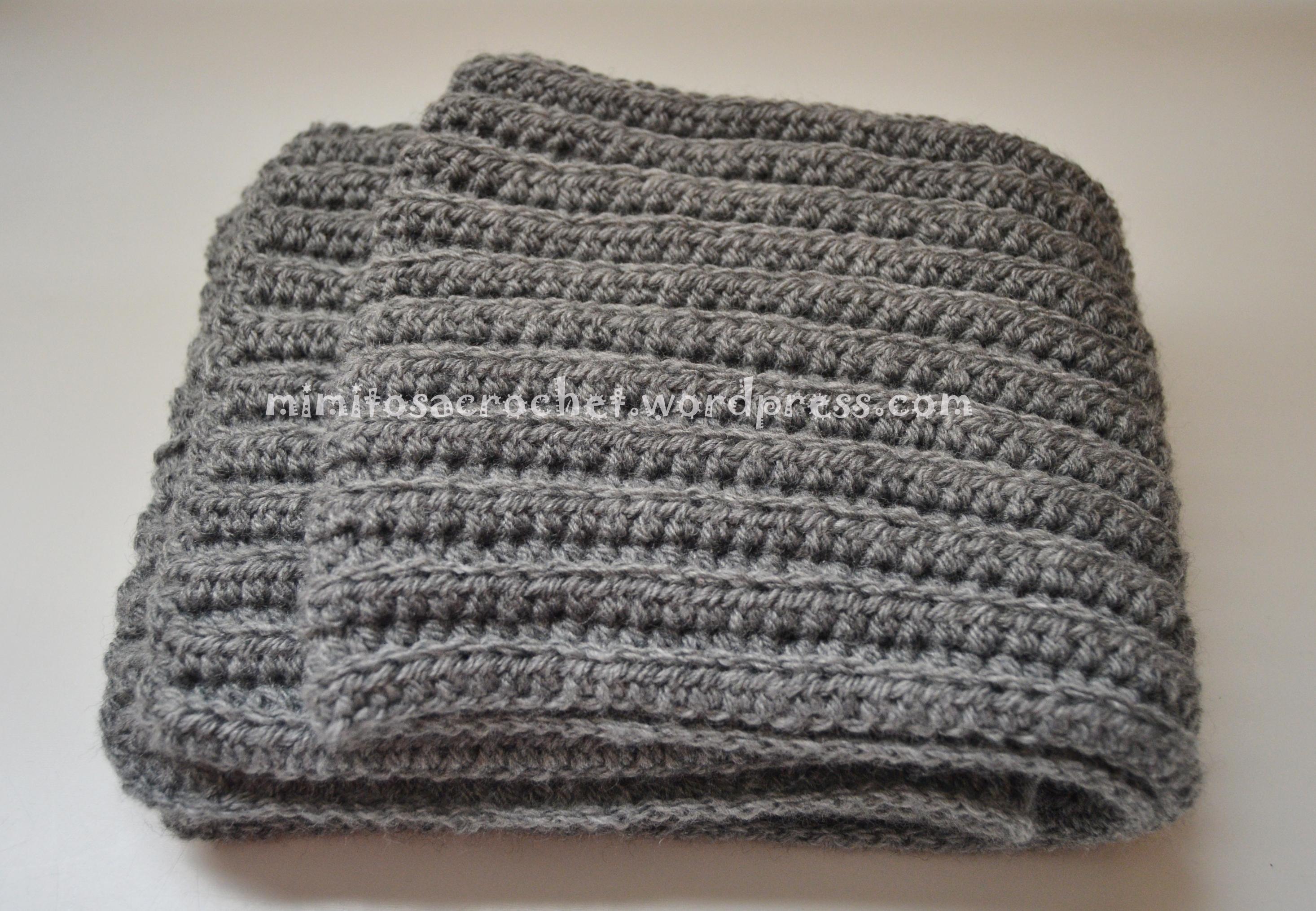 Puntos De Crochet Para Bufandas