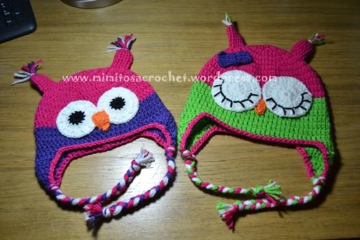 Gorros De B  Ho A Crochet
