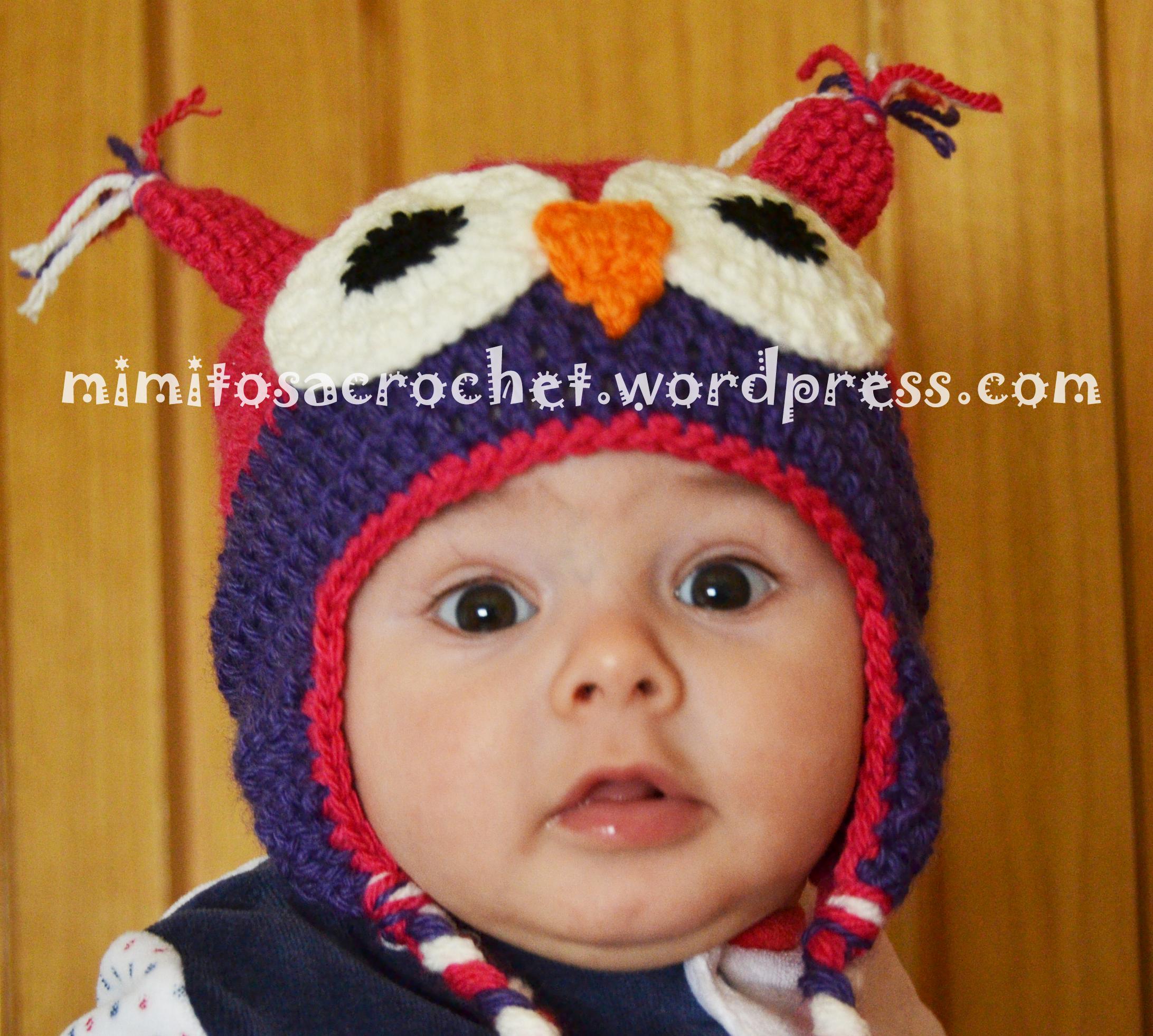 Gorro de Búho a Crochet