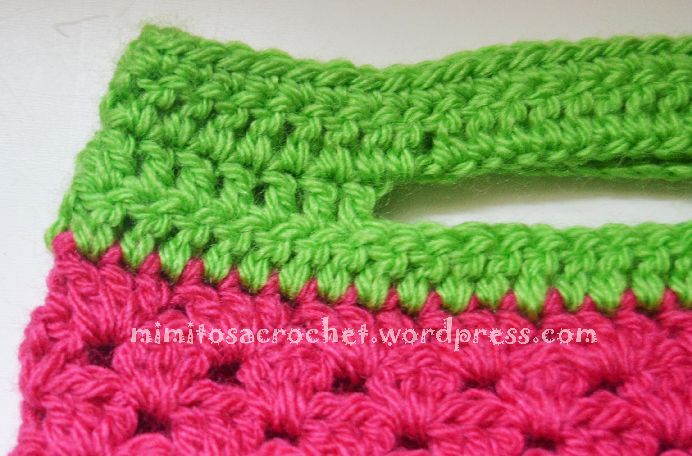 bolso de buho a crochet