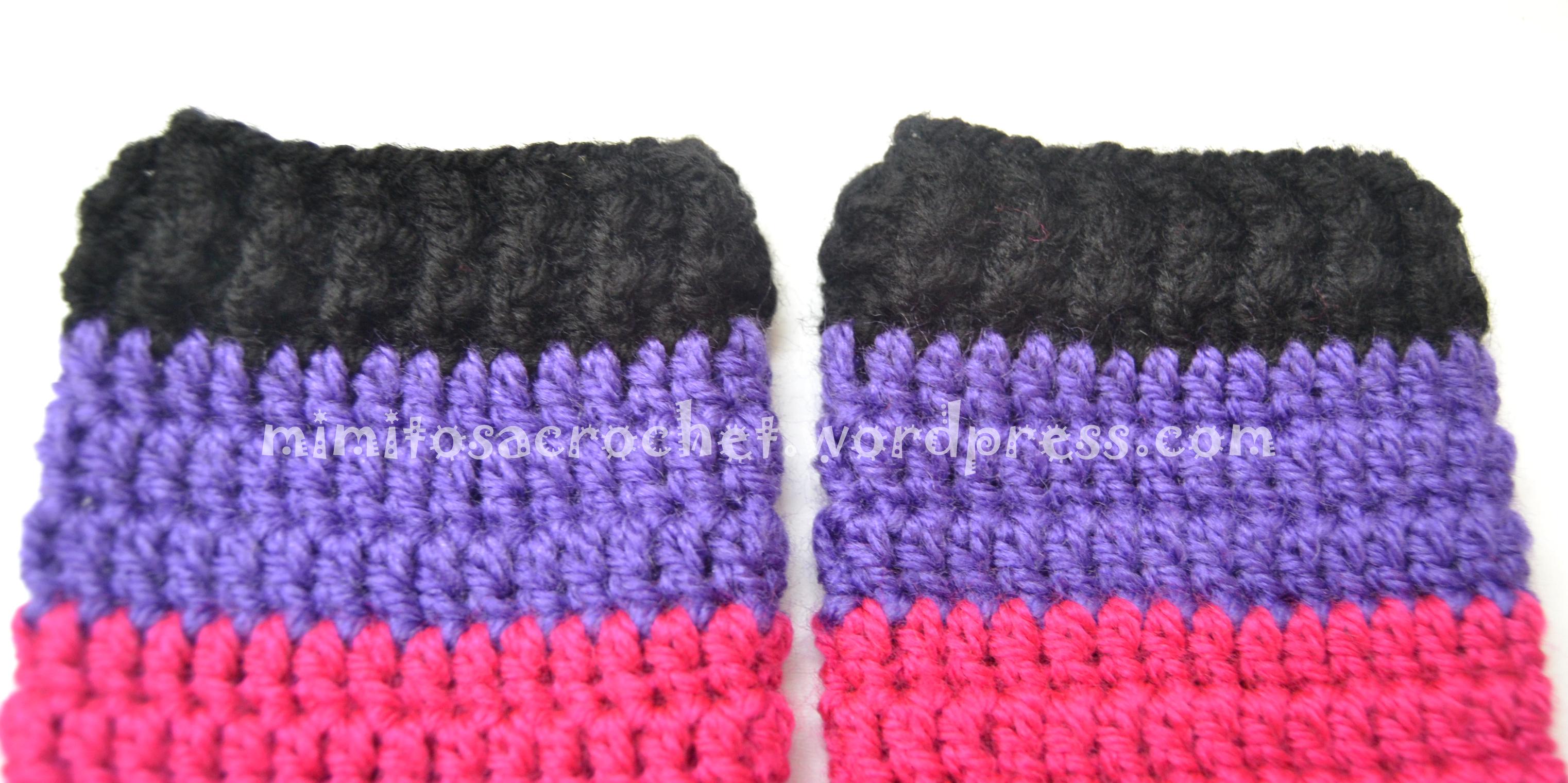 Calentadores tejido circular detalle elastico – Mimitos a Crochet