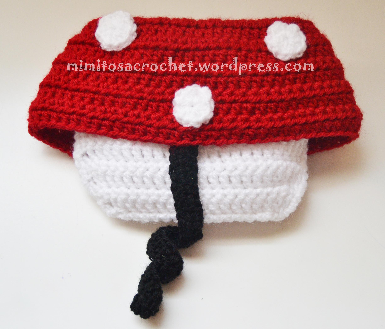 Cubrepañales a crochet con faldita – Mimitos a Crochet