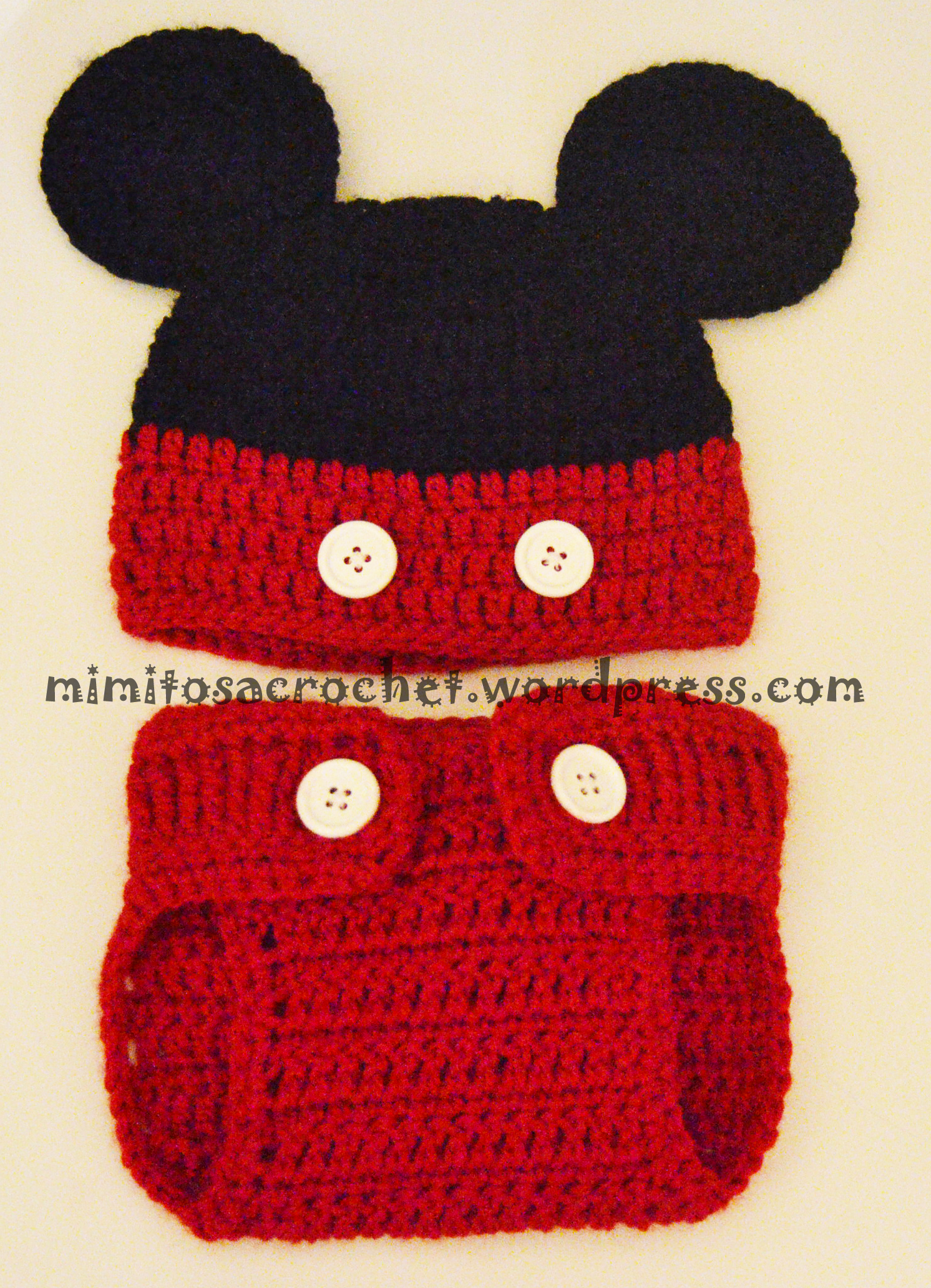 Mickey – Mimitos a Crochet