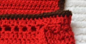 mochila búho detalle del cordón