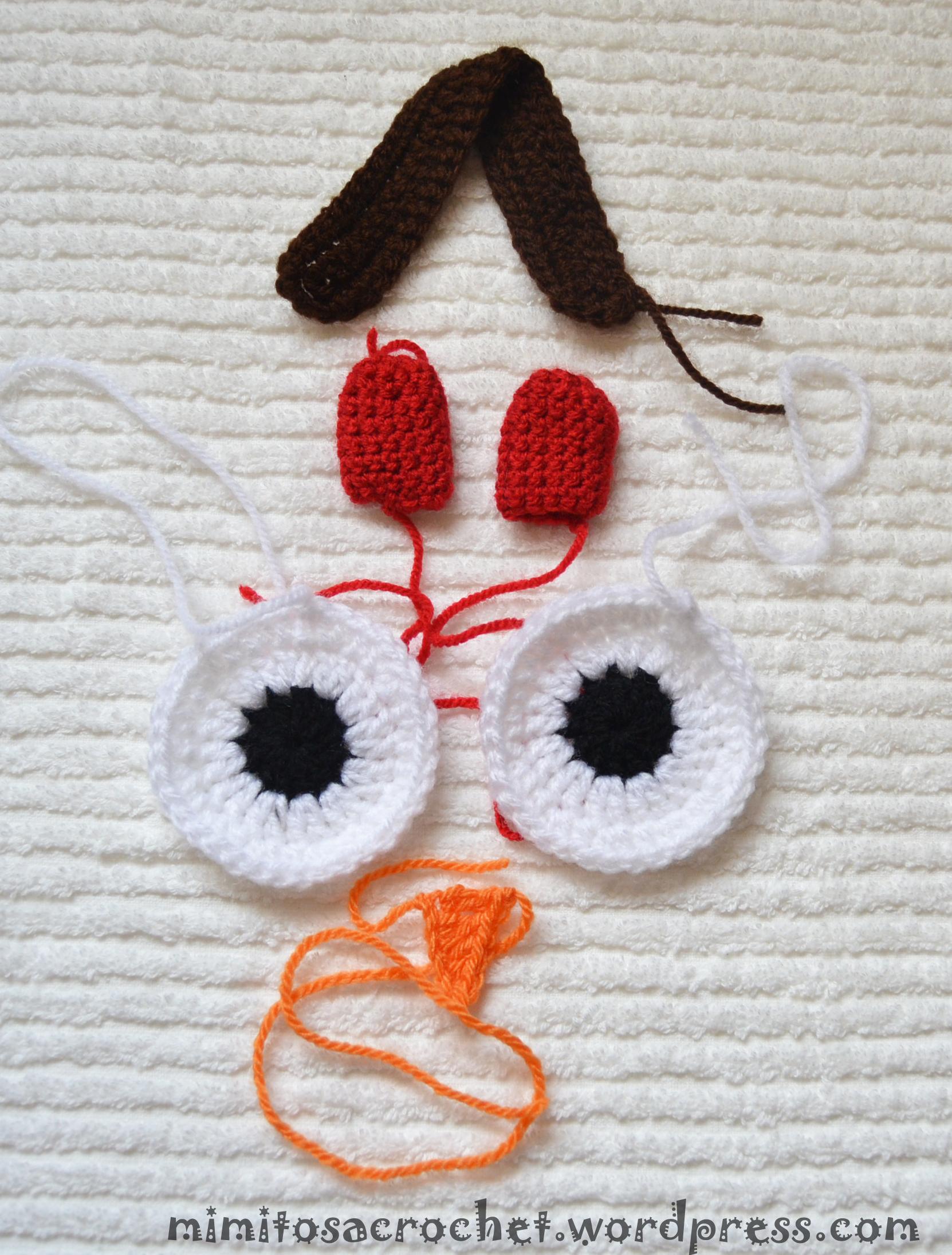Mochila de búho a crochet – Mimitos a Crochet