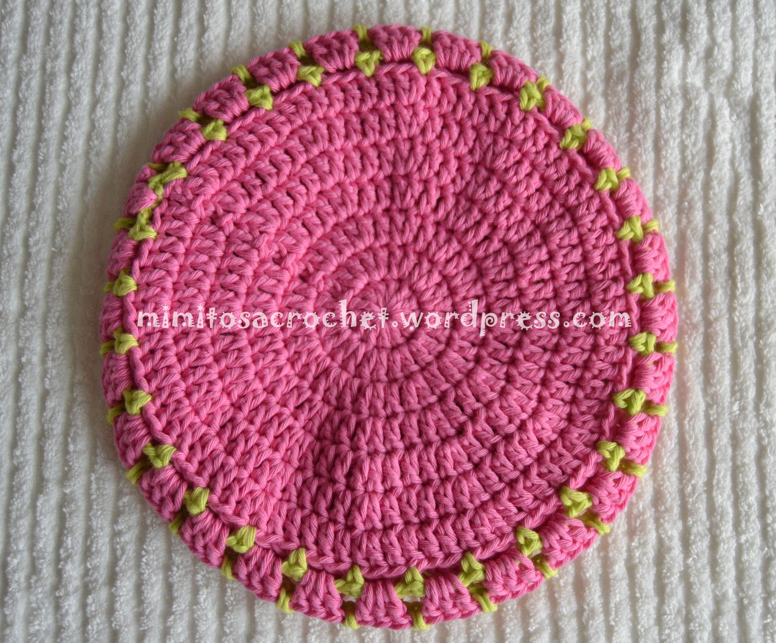 Boina con flor a Crochet – Mimitos a Crochet