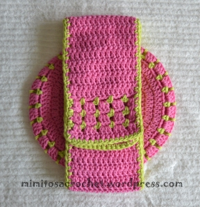 Boina y bufanda flor niña 020