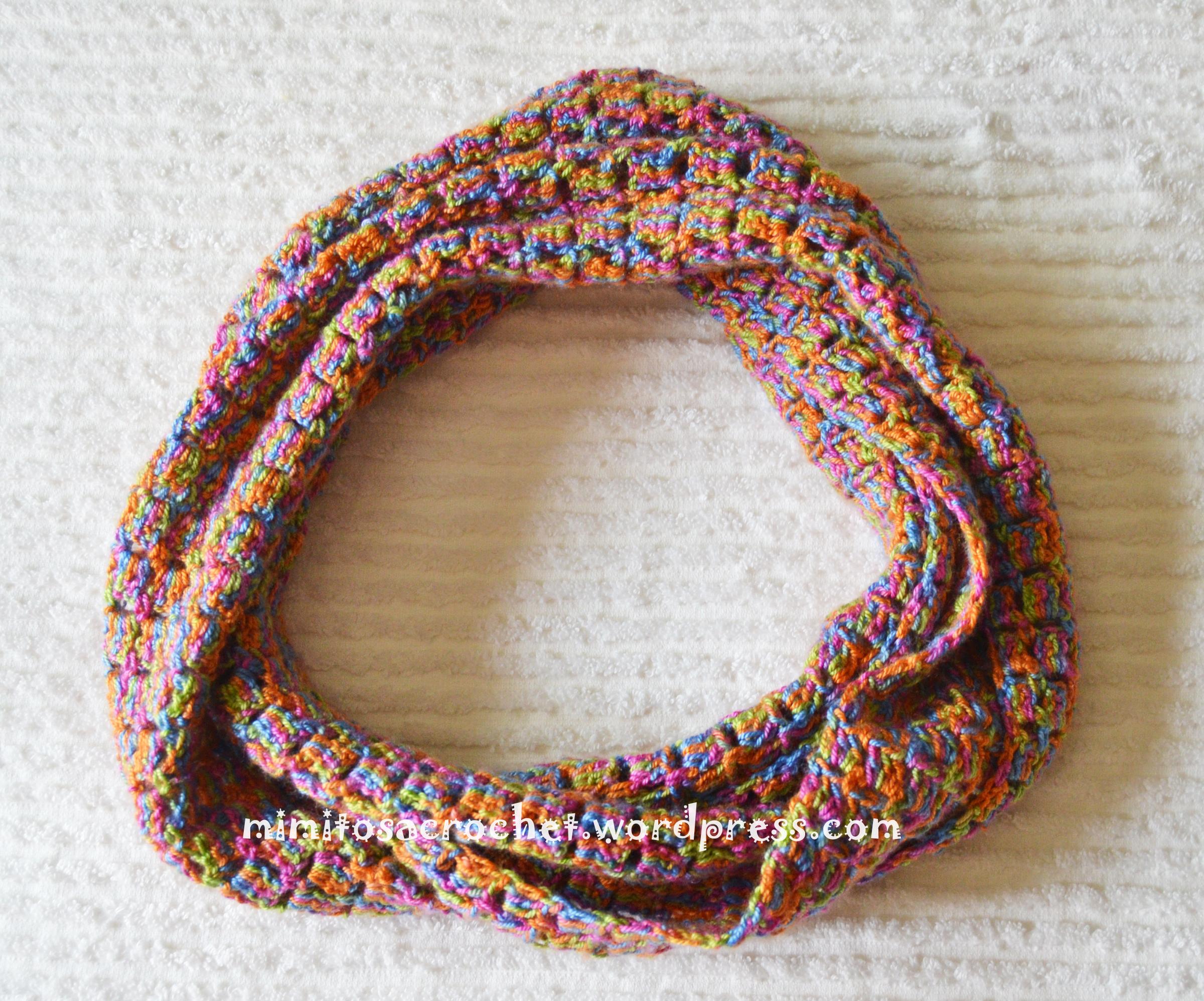 Cuello doble de verano a crochet – Mimitos a Crochet