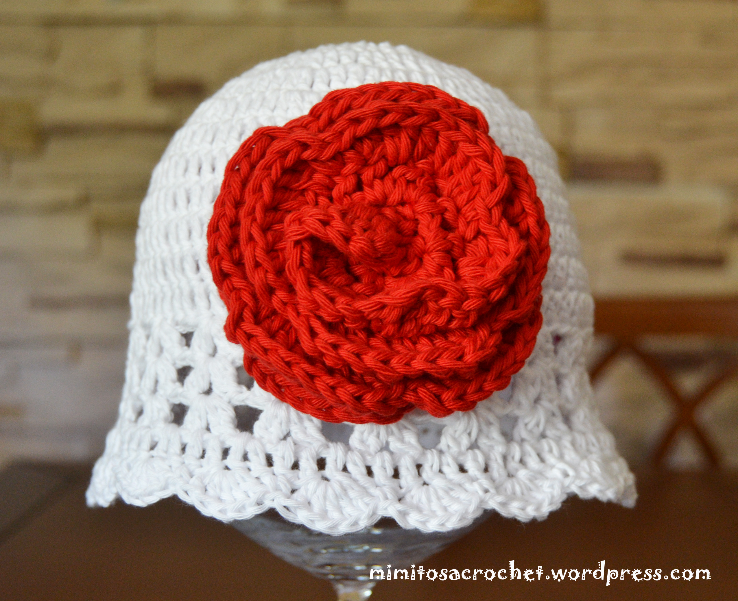 gorro de verano zoe a crochet
