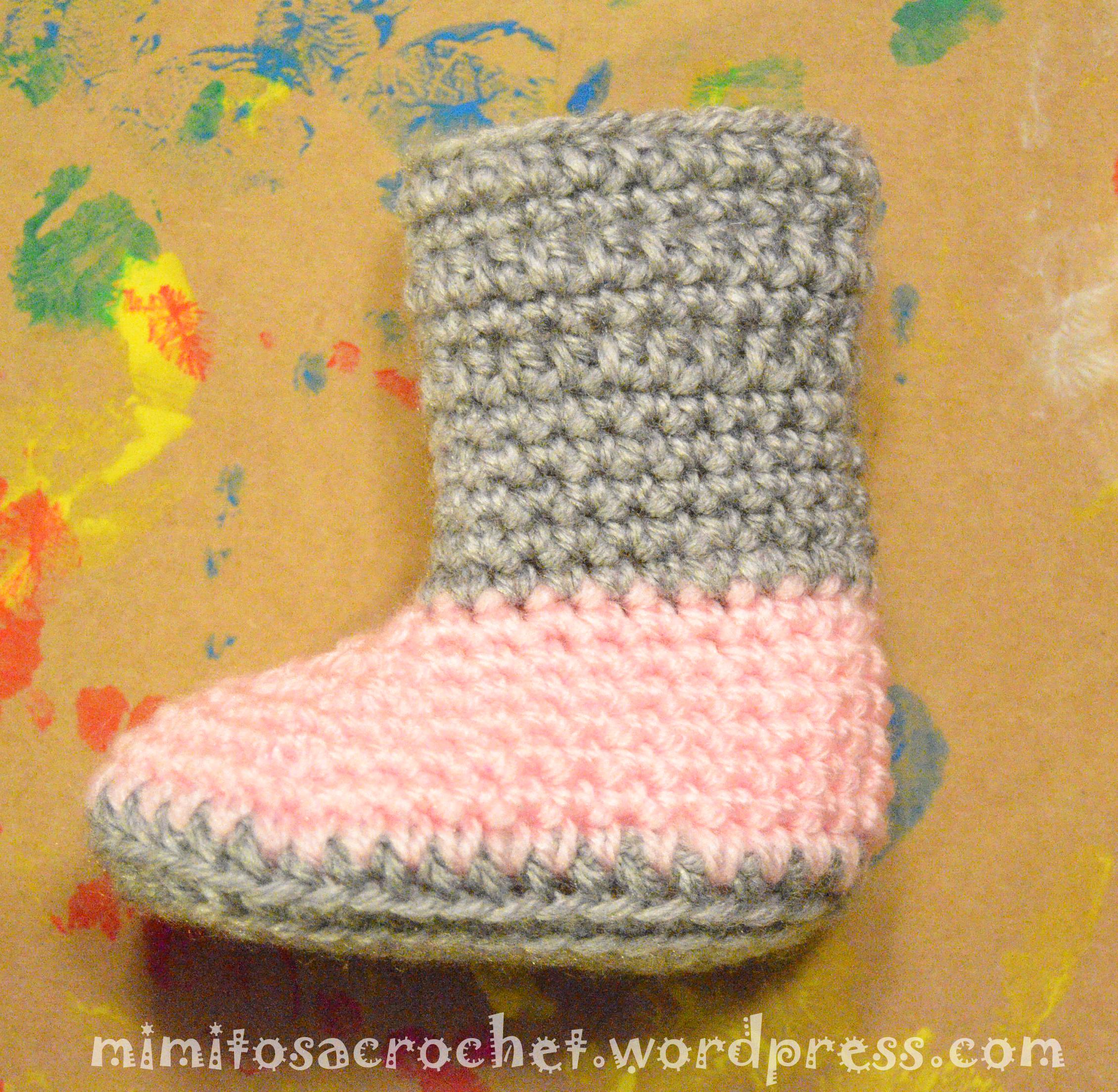 Botitas para bebé a crochet – Mimitos a Crochet