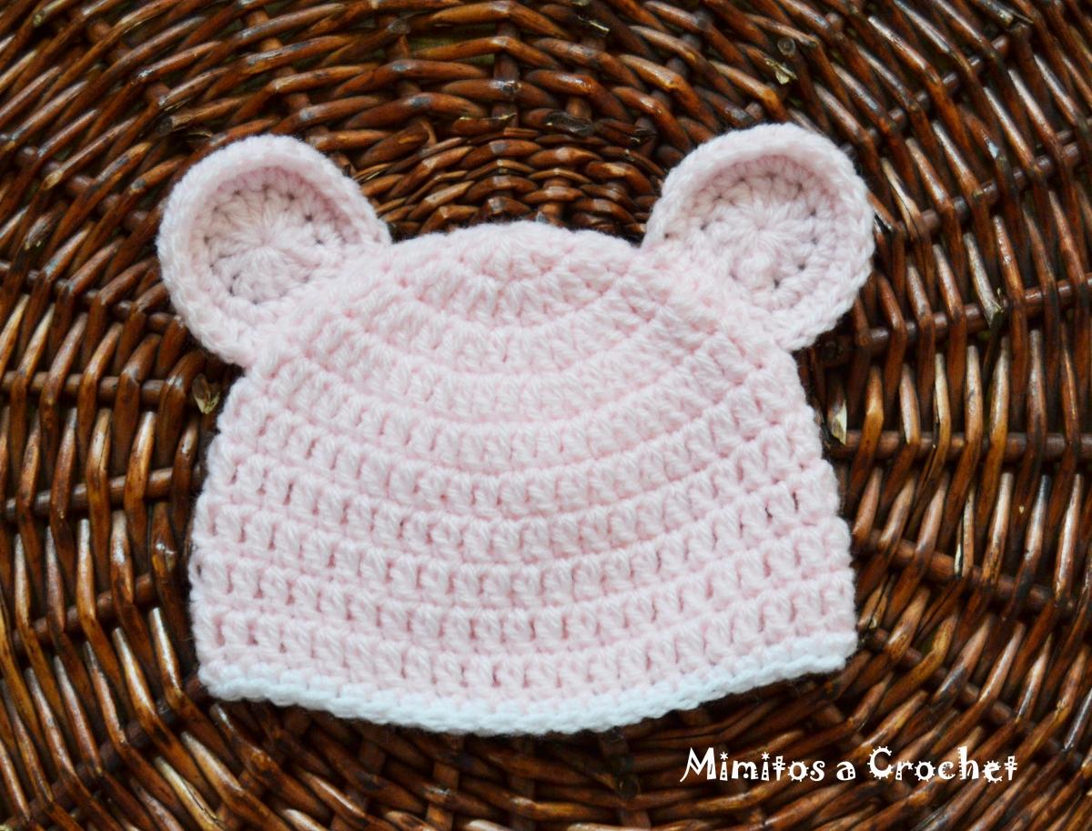 Gorro con Orejitas a Crochet – Mimitos a Crochet
