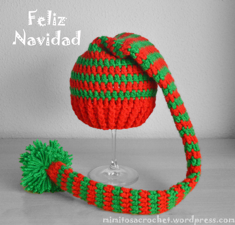 Único Los Patrones De Ganchillo Sombrero De Navidad Embellecimiento ...