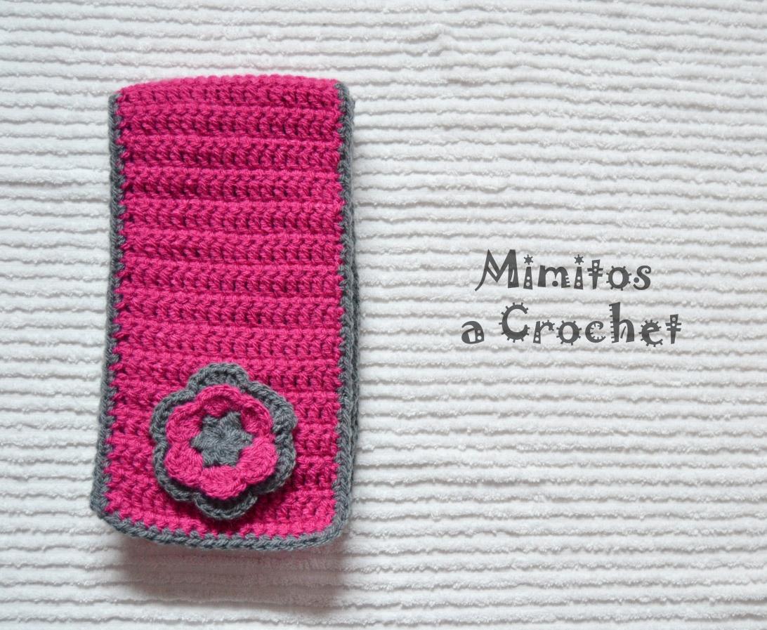bufanda flor lana acrílica 011