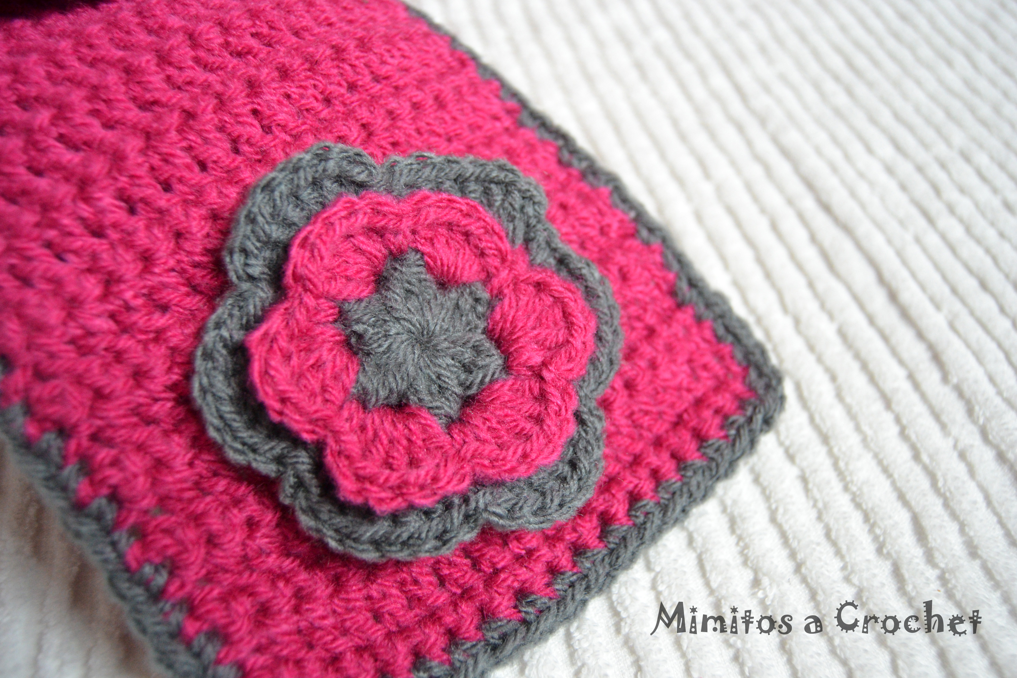 Bufandas mimitos a crochet - Bufandas de lana originales ...