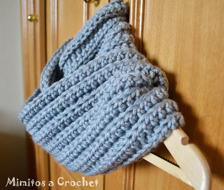 Contemporáneo Patrón De Crochet Bufanda De Moebius Colección de ...