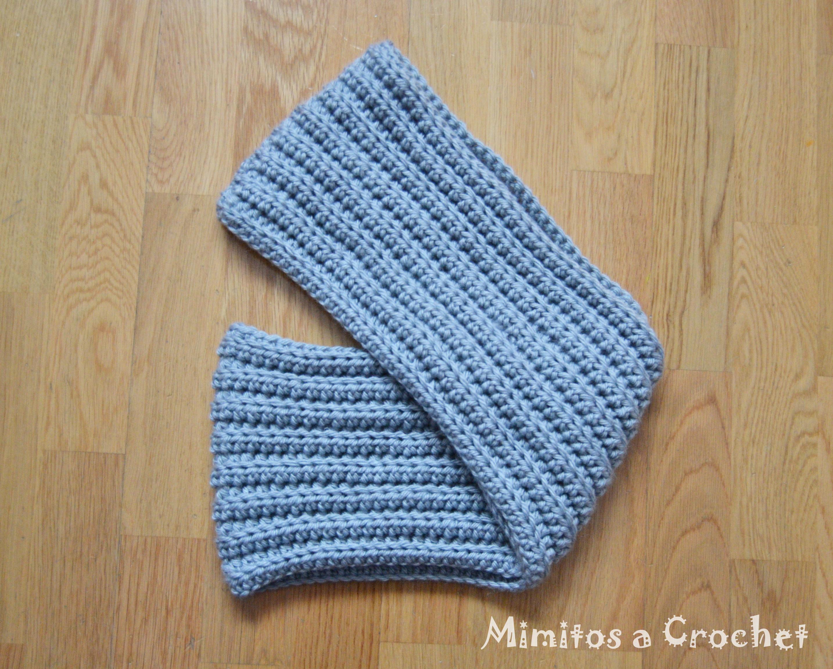Bufanda Circular a Crochet