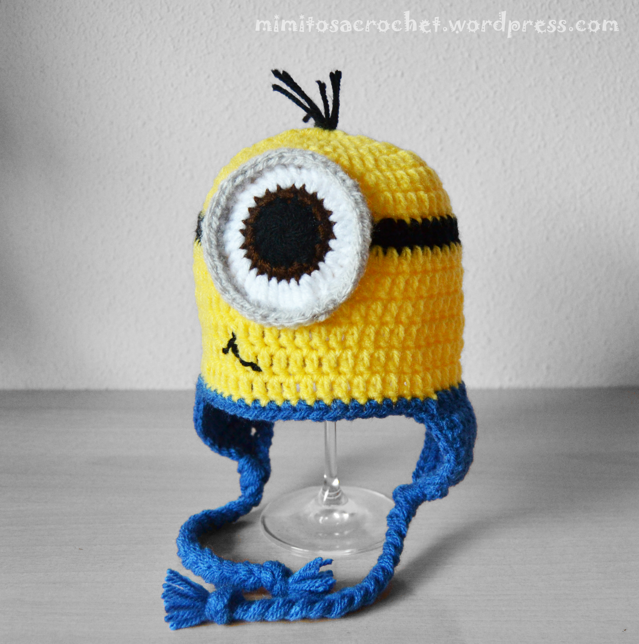 En Crochet Gorro De Minion