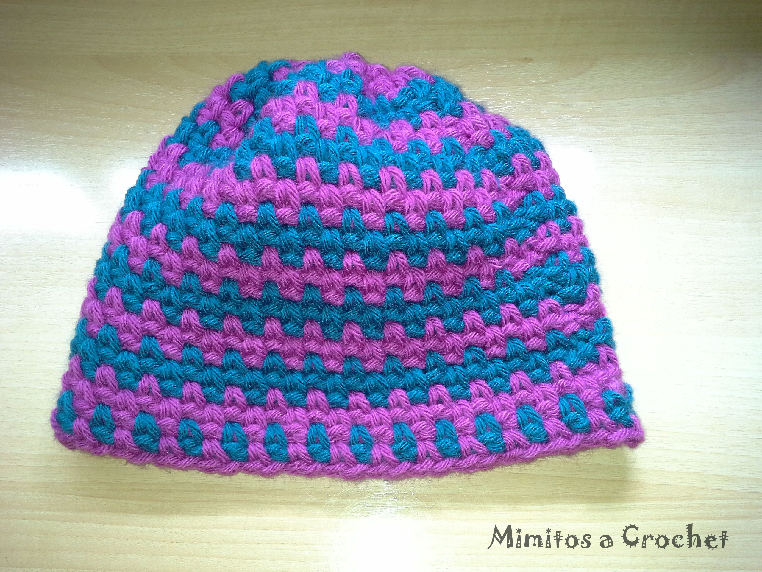 Gorro y Cuello Simple a Crochet – Mimitos a Crochet